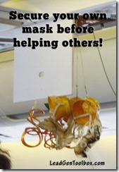 Passenger oxygen mask secure thumb Secure Your Mask Before Helping Others