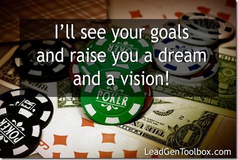dreams poker allin thumb Don't Settle For Half Way